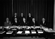 17th February 1966<br /> <br /> The Thirty-third annual general meeting of the Industrial Credit Company was held at the office of the company (26 Merrion Square Dublin) <br /> <br /> Photographed before the meeting were the Directors and Dr T.K. Whitaker, Secretary, Department of Finance(L-R Fr.) Mr. J.J. O'Leary, Dr. T.K. Whitaker, Dr. J.P. Beddy Chairman, Dr. M. W. O'Reilly, Mr. S.F. Thompson (L-R Br.) Mr. P.M. Donald, Dr. C.K. Mill and Mr P. Hughes