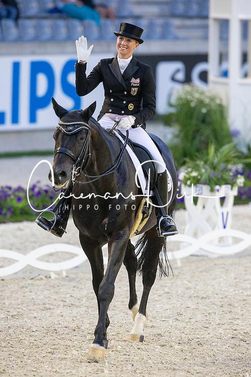 Von Bredow Werndl Jessica (GER) - Unee BB<br /> Havens Pferdefutter Preis<br /> World Equestrian Festival, CHIO Aachen 2014<br /> © Hippo Foto - Leanjo de Koster