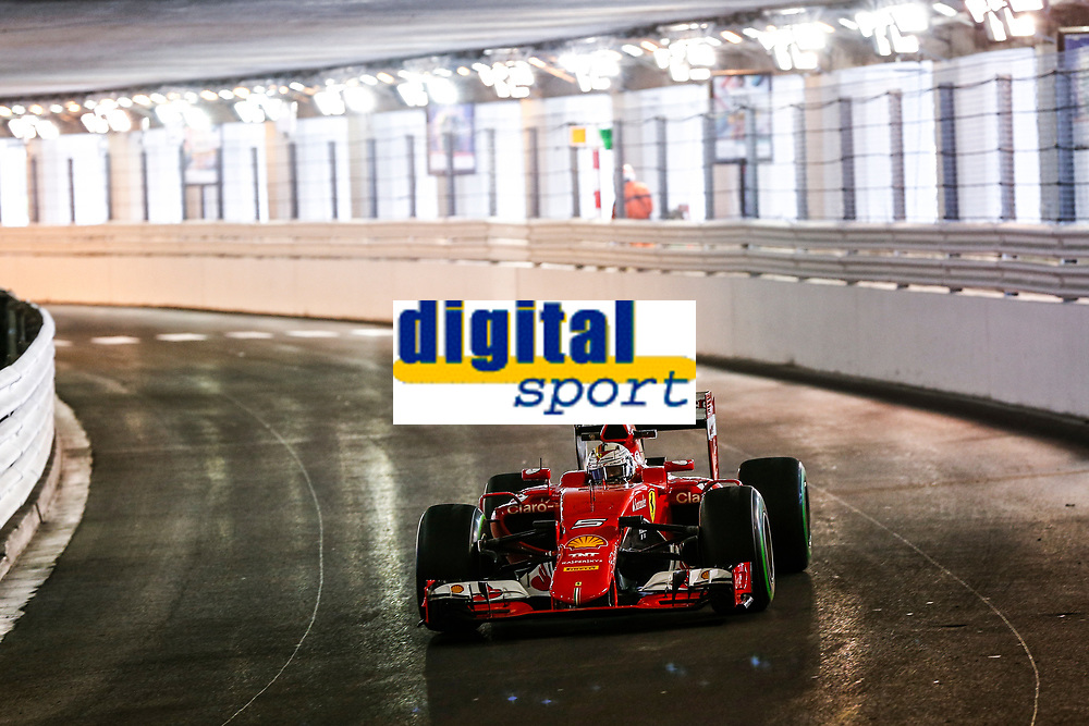 VETTEL sebastian (ger) ferrari sf15t action during the 2014 Formula One World Championship, Grand Prix of Monaco from May 20 to 24th 2015,  in Monaco. Photo Florent Gooden / DPPI