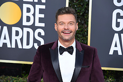 January 6, 2019 - Los Angeles, California, U.S. - Ryan Seacrest during red carpet arrivals for the 76th Annual Golden Globe Awards at The Beverly Hilton Hotel. (Credit Image: © Kevin Sullivan via ZUMA Wire)