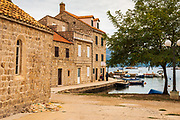 Waterfront in Sudurad, Sipan Island, Dalmatian Coast, Croatia