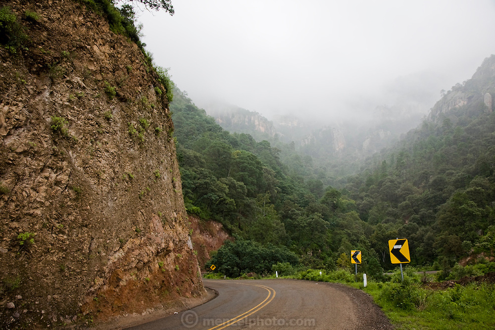 Views from Highway 16 in the Sierra Mountains near Maycoba, in the Mexican state of Sonora.