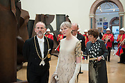 CHRISTOPHER LE BRUN; CHARLOTTE VERRITY, Royal Academy Annual Dinner 2013. Piccadilly. London. 4 June 2013.