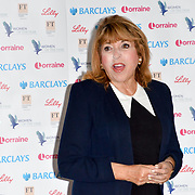 Eve Pollard attends Women of the Year Lunch and Awards at Intercontinental Hotel Park Lane, London, UK. 15 October 2018.