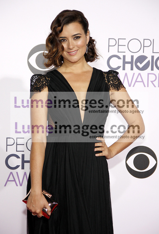 Cote de Pablo at the 41st Annual People's Choice Awards held at the Nokia L.A. Live Theatre in Los Angeles on January 7, 2015. Credit: Lumeimages.com