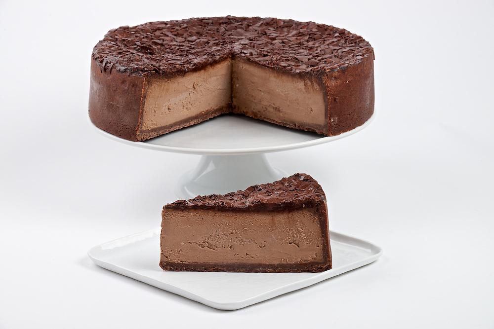 Carnegie Deli's Chocolate Cheese Cake
