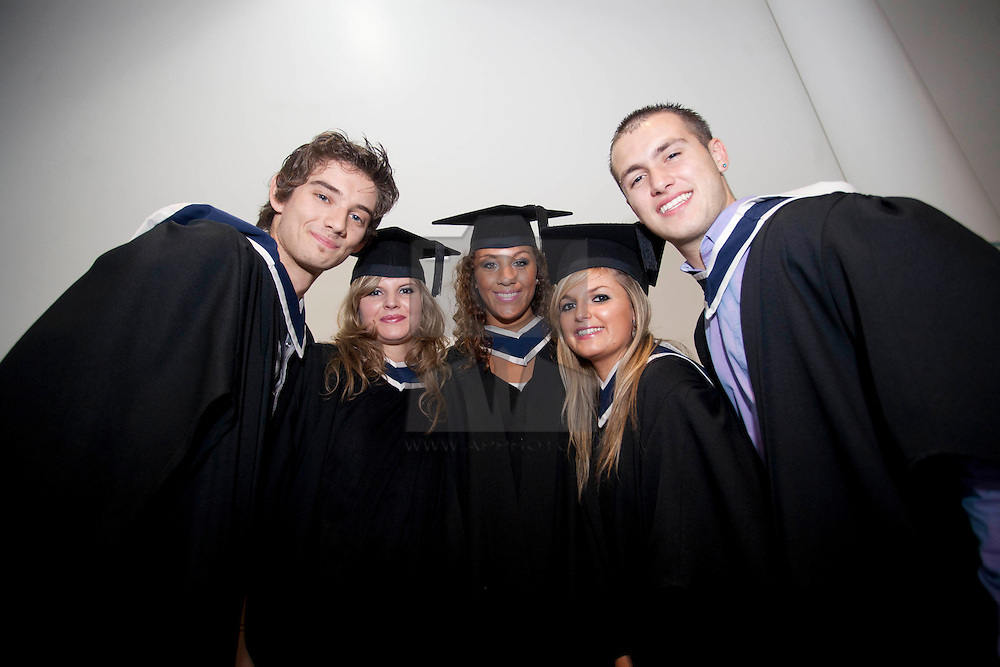 No fee for Repro: 11/11/2011.ITB (Institute of Technology Blanchardstown) to welcomed 560 students back on campus to graduate from their full, part-time and on-line courses. Pictured at the graduation are French students, Nicholas Bonnet, Clementine Richard, Marie Emma Machado, Alexandra Kergadallam and Laurent Gares....Ann Marie Sheehan.Aspire PR.0872985569.iannmarie@aspire-pr.com. ...Ann Marie Sheehan.Aspire PR.0872985569.iannmarie@aspire-pr.com