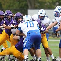 Football: University of Northwestern-St. Paul Eagles vs. Finlandia University Lions