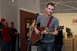 NWT performer Shea Alain performs in Canada's Northern House