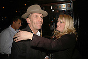 Robert Pereno and Georgia Blakey, Spring party at Frankie Dettori's bar and Grill. 3 Yeoman's Row. London sw3. 10 April 2006. ONE TIME USE ONLY - DO NOT ARCHIVE  © Copyright Photograph by Dafydd Jones 66 Stockwell Park Rd. London SW9 0DA Tel 020 7733 0108 www.dafjones.com