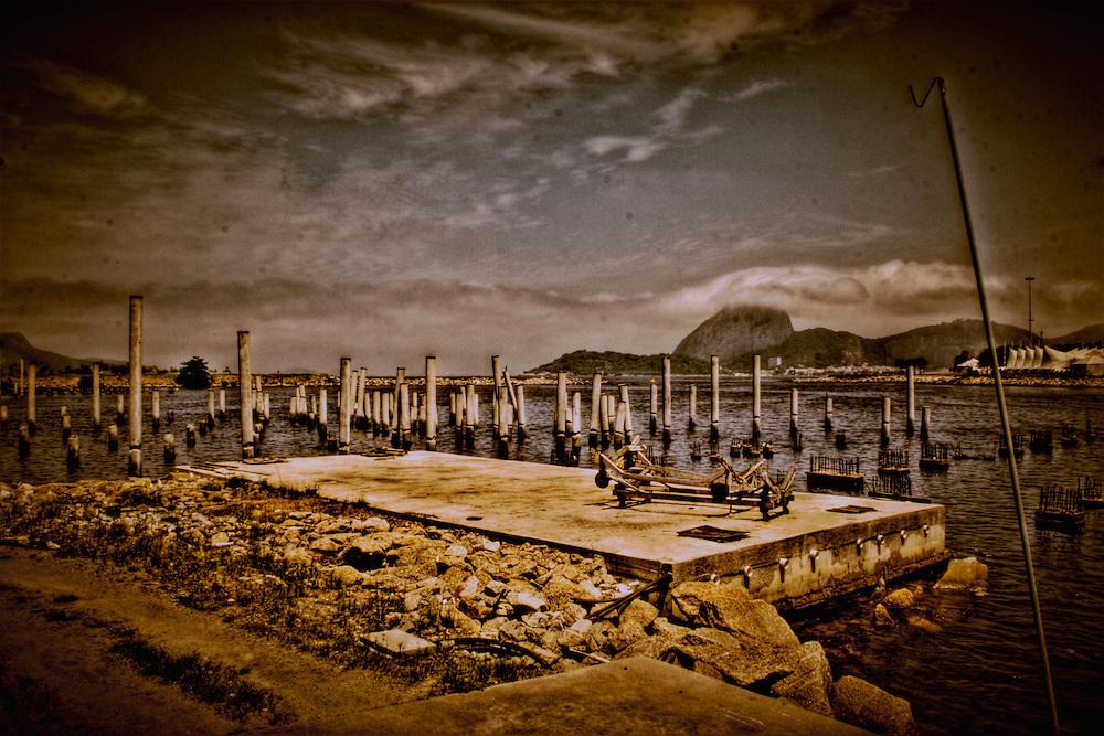 Fine art photography of Marina da Gloria, Rio de Janeiro, Brazil.