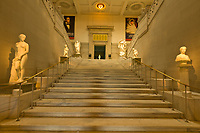 Staircase, Corcoran Gallery of Art, Washington D.C., U.S.A.