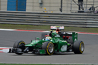 09 ERICSSON Marcus (Swe) / Caterham Renault Ct05 action during the 2014 Formula One World Championship, Grand Prix of China on April 20, 2014 in Shanghaï, China. Photo Eric Vargiolu / DPPI