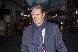 © Licensed to London News Pictures. 10/12/2017. London, UK. Shadow Secretary of State for Exiting the European Union Sir Keir Starmer arriving at BBC Broadcasting House to appear on The Andrew Marr Show this morning. Photo credit : Tom Nicholson/LNP