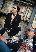 The Damned - Stiff photosession