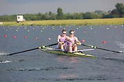 Race: 99  Event: Women's Coxless Pairs - Championship - Final<br /> <br /> National Schools Regatta 2018<br /> Sunday<br /> <br /> To purchase this photo, or to see pricing information for Prints and Downloads, click the blue 'Add to Cart' button at the top-right of the page. The Metropolitan Regatta 2018