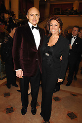 ROGER MOSS and SUSAN BERNERD at a Gala dinner in aid of Chickenshed held at the Guildhall, City of London on 29th October 2007.<br /><br />NON EXCLUSIVE - WORLD RIGHTS