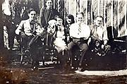 1930s family gathering