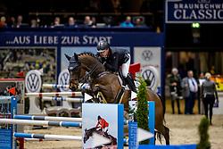 BRINKMANN Markus (GER), Pikeur Dylon<br /> Preis der WIRmachenDRUCK GmbH<br /> Int. jumping competition against the clock (1.50 m) - CSI3* Grosse Tour<br /> Braunschweig - Classico 2020<br /> 06.03.20<br /> © www.sportfotos-lafrentz.de/Stefan Lafrentz