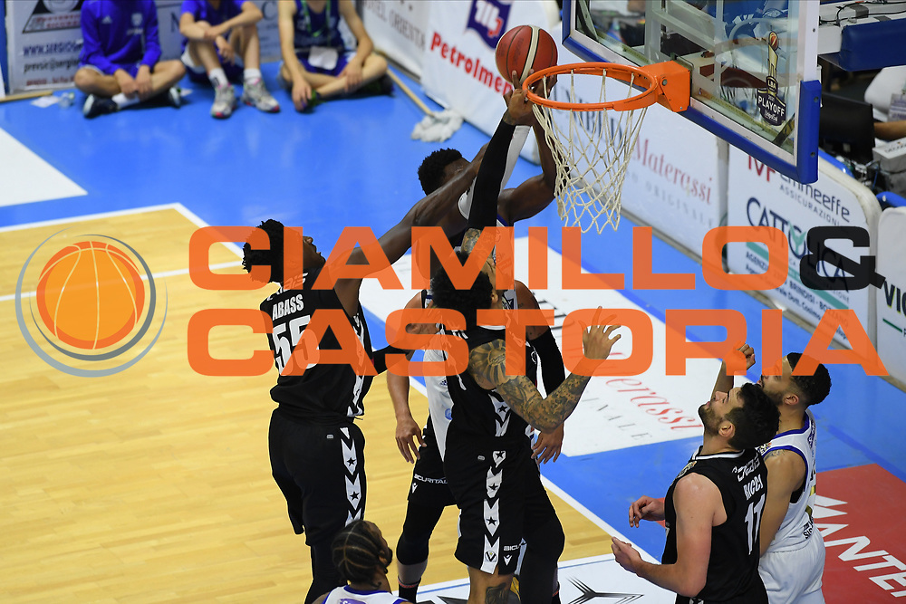 Perkins Nick<br /> Happy Casa Brindisi - Segafredo Virtus Bologna<br /> Semifinali - Gara 2<br /> Legabasket Serie A UnipolSAI 2020/2021<br /> Brindisi, 25/05/2021<br /> Foto GiulioCiamillo/ Ciamillo-Castoria