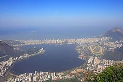 Vista aéra da Lagoa Rodrigo de Freitas - Rio de Janeiro - Brasil. FOTO: Jefferson Bernardes/Preview.com