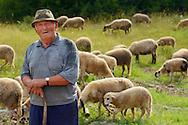 Shepherd, Velebit Nature Park, Rewilding Europe rewilding area, Velebit  mountains, Croatia