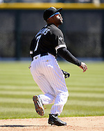 CHICAGO - APRIL 09:  Jimmy Rollins #7 of the Chicago White Sox fields against the Cleveland Indians on April 9, 2016 at U.S. Cellular Field in Chicago, Illinois.  The White Sox defeated the Indians 7-3.  (Photo by Ron Vesely)  Subject: Jimmy Rollins