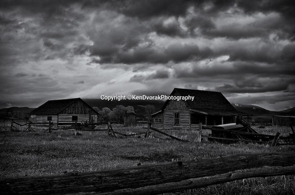 Teton/Yellowstone '13<br /> edited 1/25/14<br /> converted to B&W 1/25/14 printed