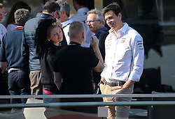 February 28, 2019 - Barcelona, Catalonia, Spain - Toto Wolff, from Mercedes during the Formula 1 test in Barcelona, on 28th February 2019, in Barcelona, Spain. (Credit Image: © Joan Valls/NurPhoto via ZUMA Press)