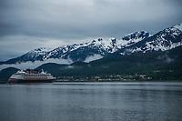 Disney Cruise Ship, Gastineau Channel
