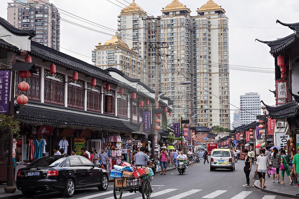 Yu Gardens bazaar Shanghai, China