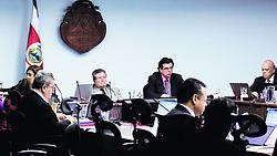 """December 19, 2018 - (20/11/2018) Las votaciones sobre asuntos disciplinarios en la Corte Plena no se publicarán. PROHIBIDO EL USO O REPRODUCCIÃ""""N EN COSTA RICA. (Credit Image: © Andrey Palacios/La Nacion via ZUMA Press)"""