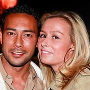 NLD/Amsterdam/20110528 - Toppers in Concert 2011, Danny Landzaat en partner Annemarie de Waal