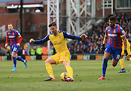 Arsenal's Olivier Giroud in action<br /> <br /> Barclays Premier League - Crystal Palace  vs Arsenal  - Selhurst Park - England - 21st February 2015 - Picture David Klein/Sportimage