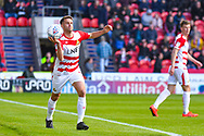 Matty Blair of Doncaster Rovers (17) in action during the EFL Sky Bet League 1 match between Doncaster Rovers and Coventry City at the Keepmoat Stadium, Doncaster, England on 4 May 2019.