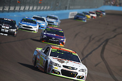 November 12, 2017 - Avondale, Arizona, United States of America - November 12, 2017 - Avondale, Arizona, USA: Chase Elliott (24) battles for position during the Can-Am 500(k) at Phoenix Raceway in Avondale, Arizona. (Credit Image: © Justin R. Noe Asp Inc/ASP via ZUMA Wire)