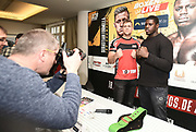 Pressekonferenz vor Box-Gala von SES- und ES Boxing, Block-Braeu an den Landungsbruecken,<br /> 14. Januar 2020, Hamburg, Germany,<br /> © MSSP - MICHAEL SCHWARTZ SPORTPHOTO, <br /> 22605 Hamburg,  Tel: 0171-6460044, www.mssp.biz  -  www.schwartz-photo.de<br /> Honorar o. Abzug + 7% MwSt. -<br /> IBAN: DE83 2004 0000 0409 9909 00, BIC/SWIFT-Code: COBADEFF, zuvor: Commerzbank, Kto: 409990900, BLZ: 20040000,  Steuer-ID. DE225222405, FA Hamburg-Am Tierpark