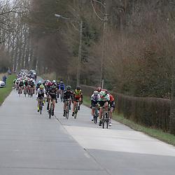 25-02-2017: Wielrennen: Vrouwen Omloop Het Nieuwsblad: Gent <br />GENT (BEL) wielrennen<br /><br />Peloton in actie