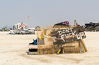 """DONT FUCK UP - When I asked this person what happens if you fuck up he shrugged and said """"I don't know"""" - https://Duncan.co/Burning-Man-2021"""