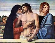 Giovanni Bellini,  Pietà 1460