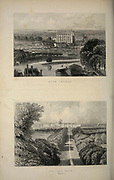 London Eton Collage (top) and The Long Walk Windsur From the book Illustrated London, or a series of views in the British metropolis and its vicinity, engraved by Albert Henry Payne, from original drawings. The historical, topographical and miscellanious notices by Bicknell, W. I; Payne, A. H. (Albert Henry), 1812-1902 Published in London in 1846 by E.T. Brain & Co