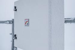 THEMENBILD - vereiste Messgeraete am Sonnblick Observatorium, aufgenommen am 20. November 2018, Rauris, Österreich // iced measuring instruments at the Observatory Sonnblick on 2018/11/20, Rauris, Austria. EXPA Pictures © 2018, PhotoCredit: EXPA/ JFK