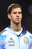Cristian Ansaldi of Argentina - Argentina vs. Portugal - International Friendly - Old Trafford - Manchester - 18/11/2014 Pic Philip Oldham/Sportimage