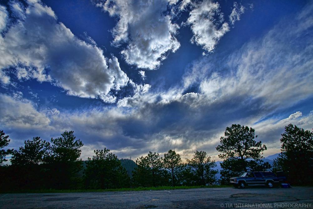 Sky over Lookout Mountain (Golden, Colorado)