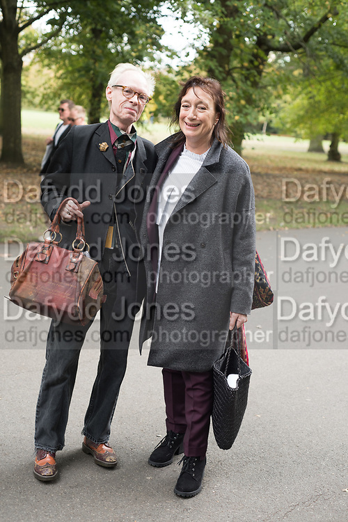 ANTHONY FAWCETT, ANNE GALLAGHER; TATE GALLERY, REGENTS PARK, 3 October 2018