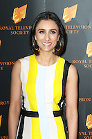 Anita Rani, The Royal Television Society Programme Awards, Grosvenor House Hotel, London UK, 18 March 2014, Photo by Richard Goldschmidt