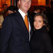 Eenjarig bestaan Louis Vuitton Nederland, Marc Schröder en zijn vrouw