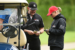 Zara Tindall during the ISPS Handa Celebrity Golf Classic at The Belfry in Sutton Coldfield.