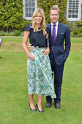 BEN & MARINA FOGLE at the Cartier hosted Style et Lux at The Goodwood Festival of Speed at Goodwood House, West Sussex on 26th June 2016.