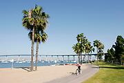 Bicycle Path, Coronado Island, San Diego, California (SD)